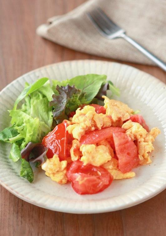 トマトのたまご炒め