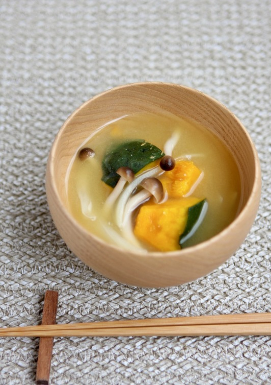 カボチャの味噌汁