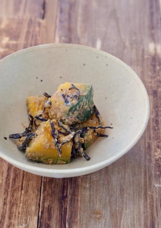 無塩料理 かぼちゃの胡麻煮 マクロビ