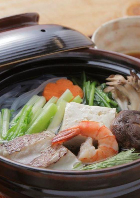 土佐酢で味わう水炊き
