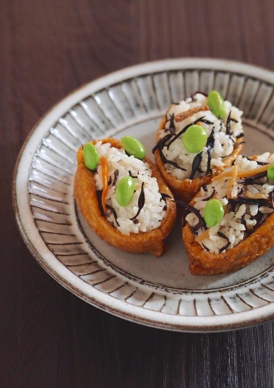 ひじき煮入り いなり寿司