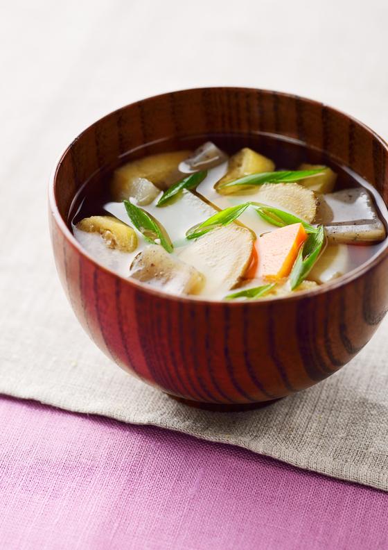 根菜たっぷり汁