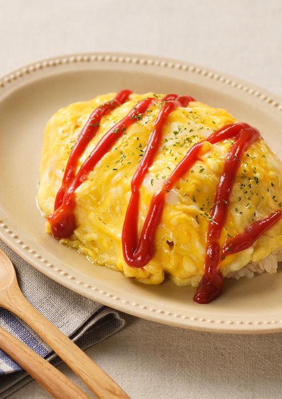 とろとろ半熟卵のオムライス