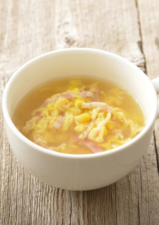 卵コーンスープ