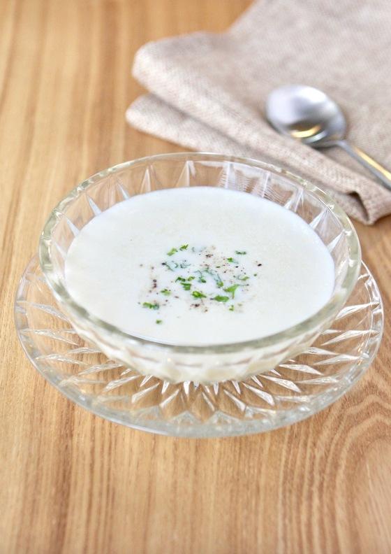 お手軽じゃがいもの冷製スープ