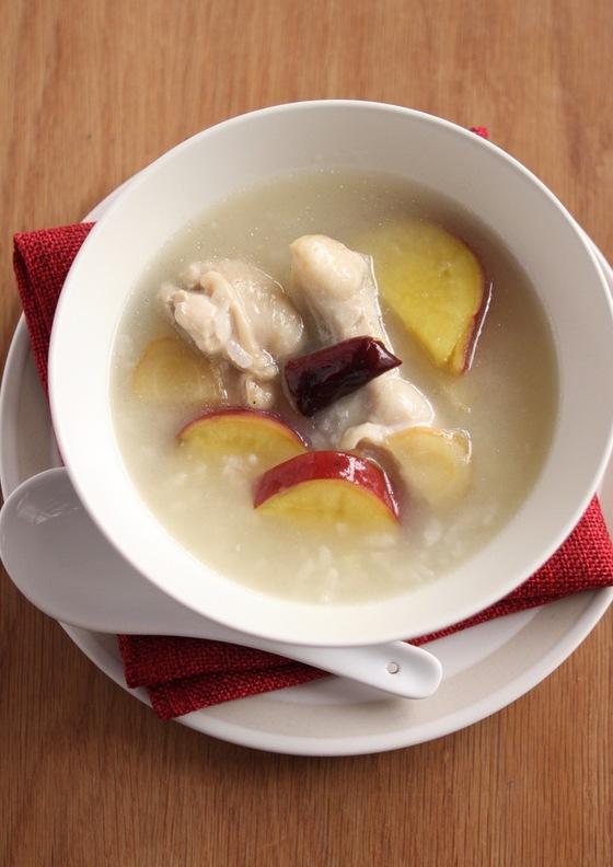 参鶏湯風あったかスープ