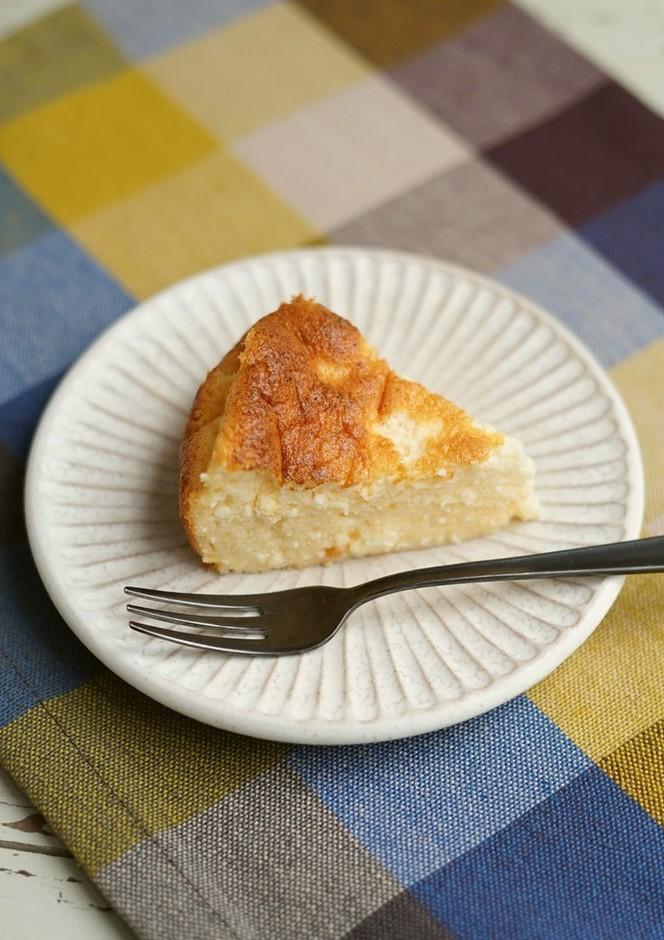ダイエットの方も カッテージチーズケーキ