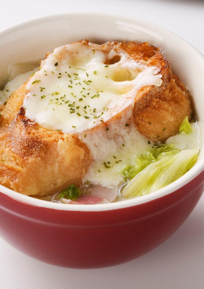 白菜グラタンスープ