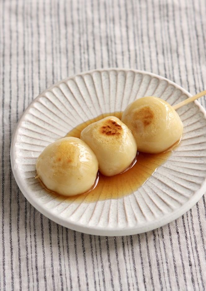 豆腐で やわやわみたらし団子