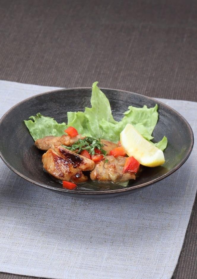 鶏肉のバルサミコ風炒め