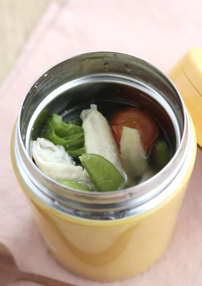 スープジャーで作る 春ポトフ