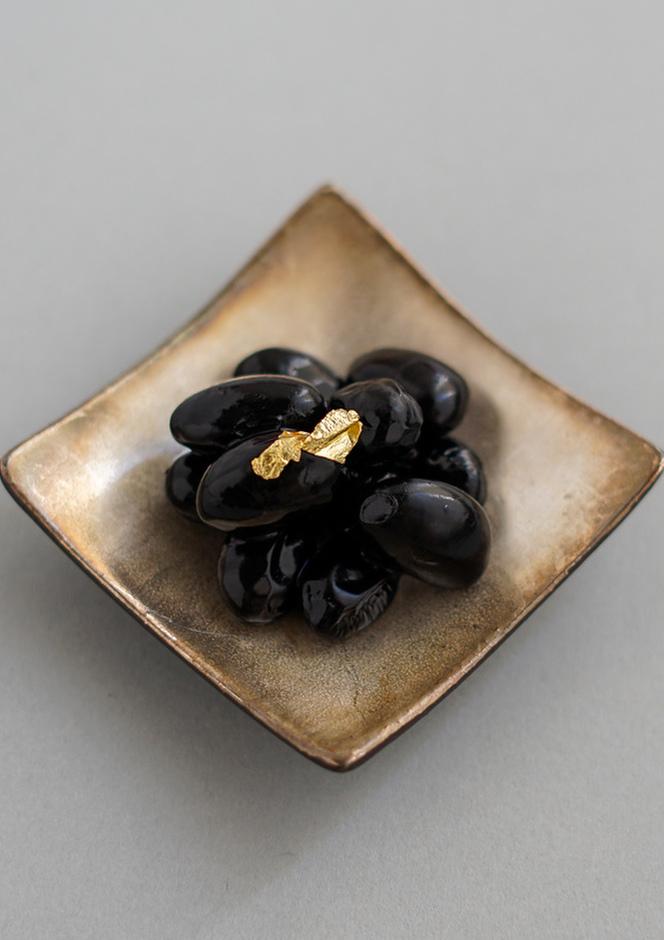 ブランデー入り黒豆の甘煮風