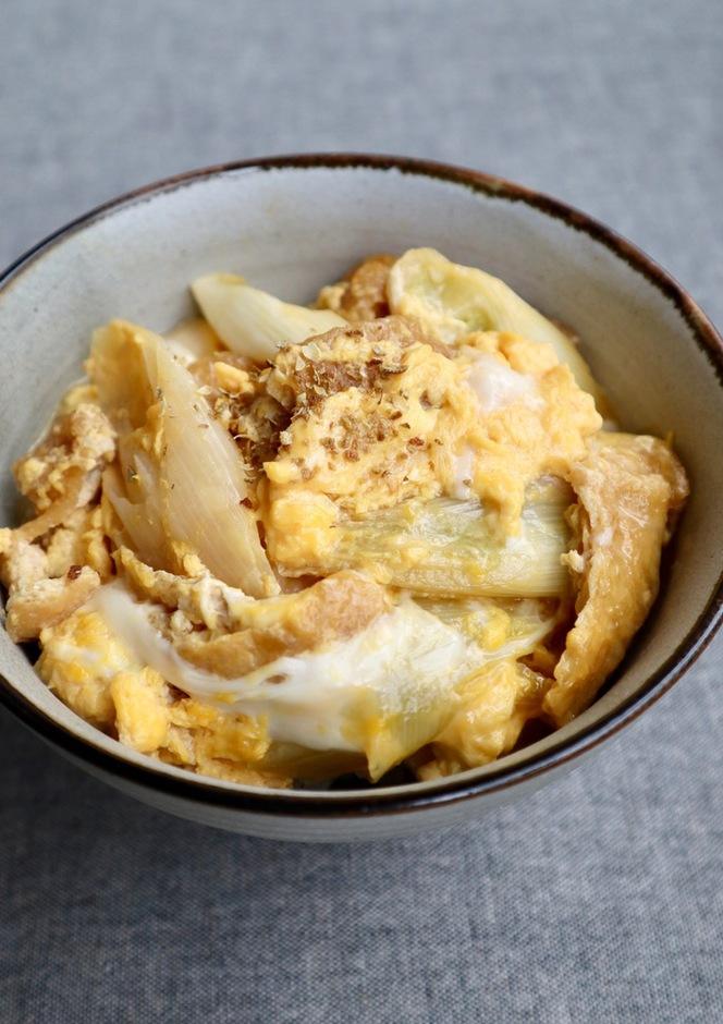 京都の定番 衣笠丼