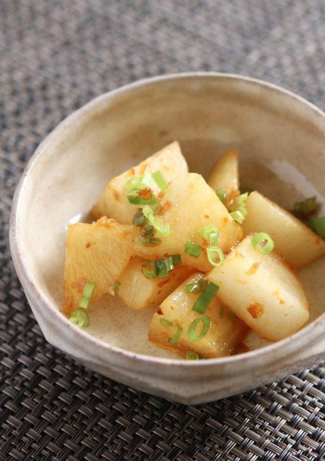 超ヘルシーな大根の韓国煮