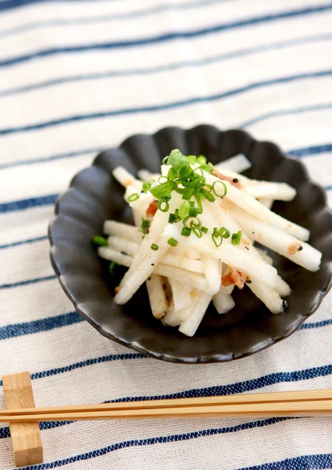 梅味噌さっぱり 大根サラダ