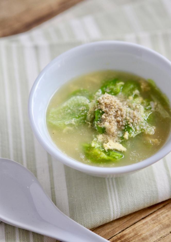 レタスとふんわり卵のスープ