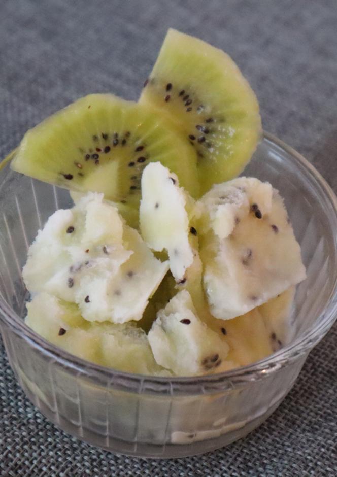 簡単 キウイヨーグルトアイス