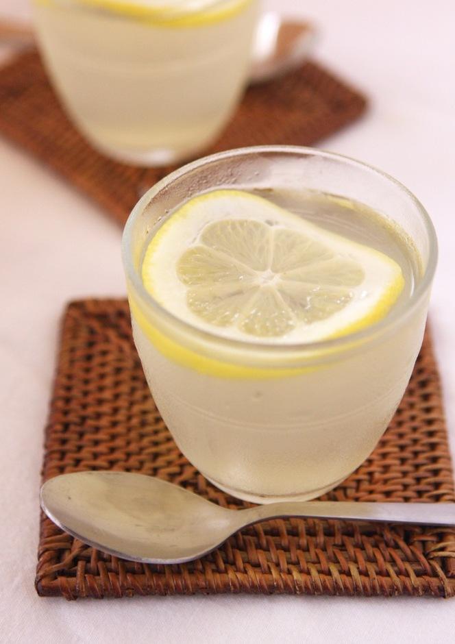 すっきり爽やか はちみつレモンゼリー