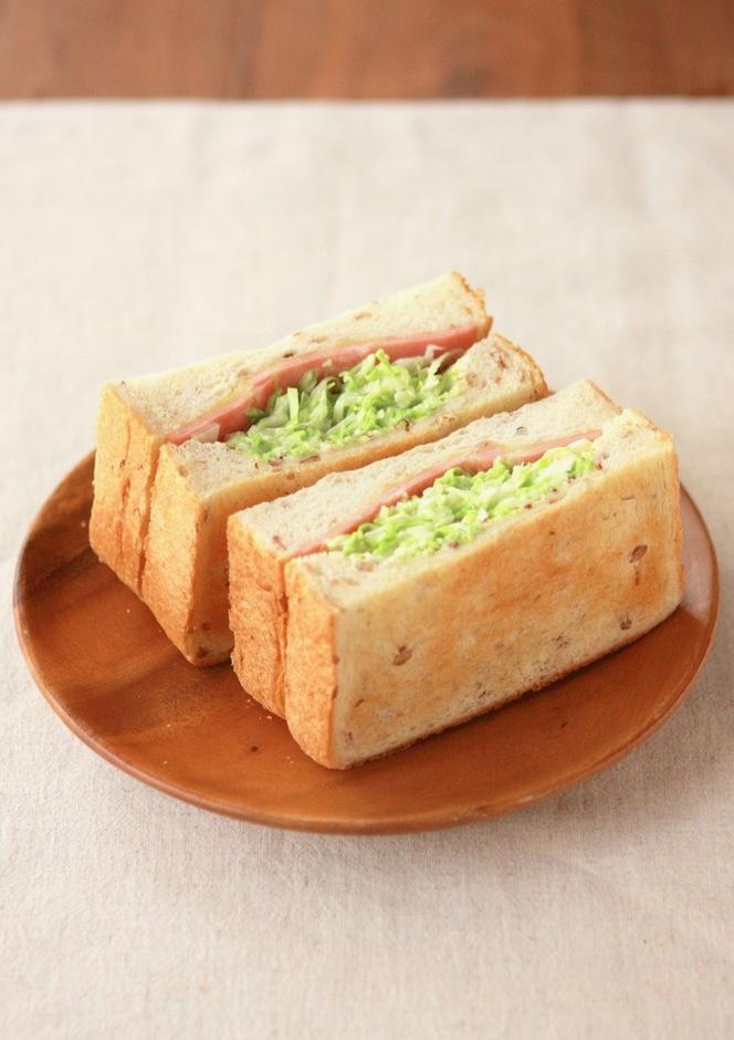 作り易くて食べ易い 沼さんサンドイッチ
