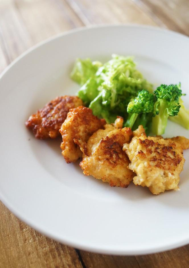 鶏ひき肉と豆腐のふわふわナゲット