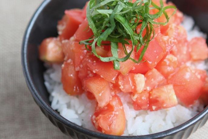あっさりトマトご飯