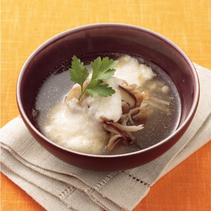 きのこのスープ
