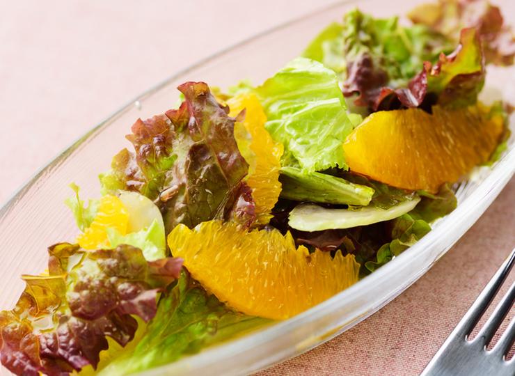 オレンジのサラダ