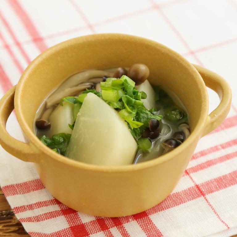 かぶのスープ煮