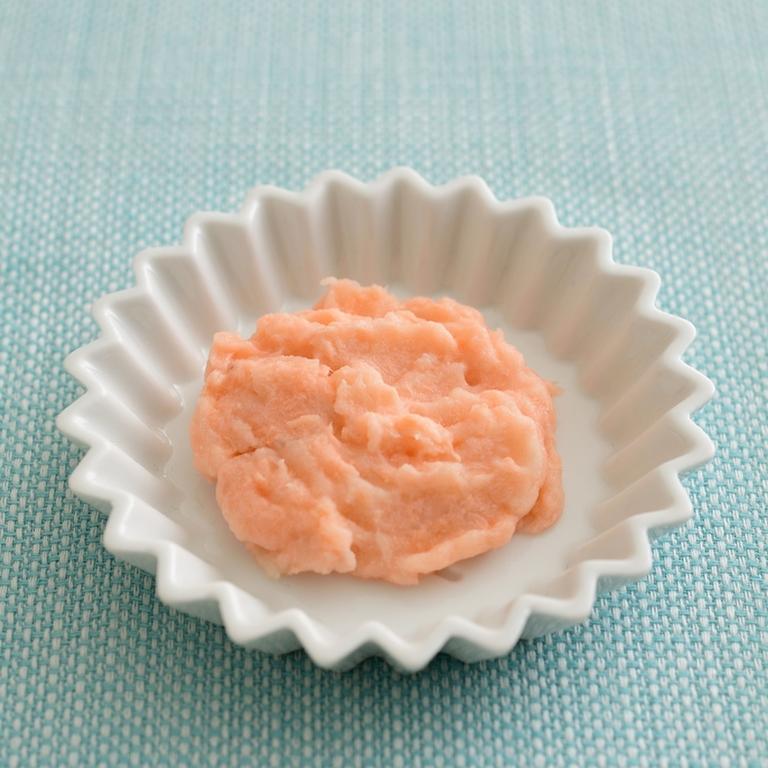 【離乳食・中期】鮭入りマッシュポテト