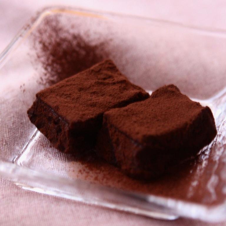 簡単 豆腐で生チョコ