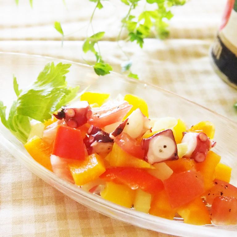 イタリアンカラー夏色サラダ