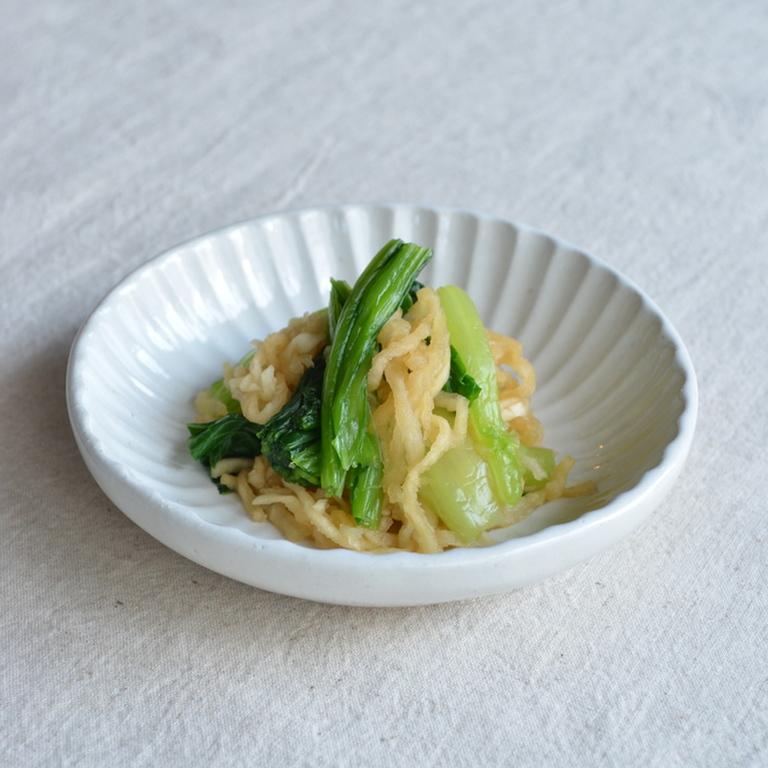 小松菜と切り干し大根のお浸し