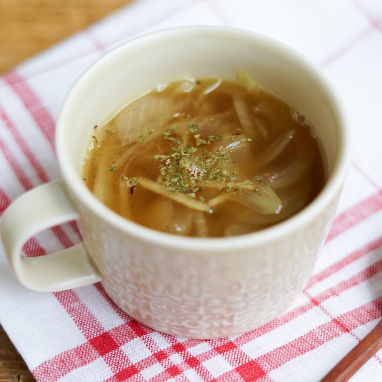 玉ねぎと生姜のスープ