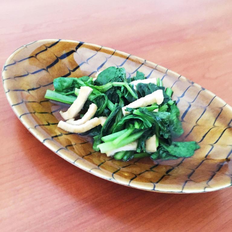 青菜のあっさり煮浸し