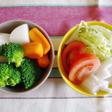 生野菜と温野菜をバランスよく食べよう!
