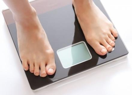 体重を測ることで、自分の生活リズムが確認できます