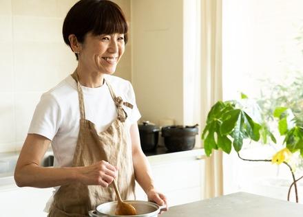 「心のえいよう」料理研究家 ワタナベマキさん 大好きな料理を楽しむため、オフの時間も大切に