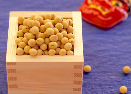 節分に欠かせない「大豆」でたんぱく質アップ