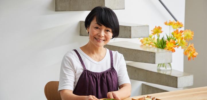 「心のえいよう」料理研究家 藤井恵さん 無理なく、手間なく、料理を楽しめるように