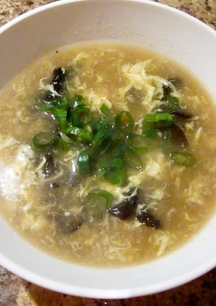 キクラゲと卵のとろ〜り中華スープ♪