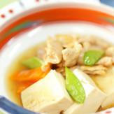 木綿豆腐で作ろう♪肉豆腐