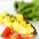 ✿ゆで卵でアレンジ!サーモン菜種焼き✿