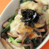 豆腐ときのこの簡単グラタン