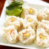 ふわふわ豆腐のシュウマイ