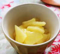 とろとろ りんごの葛煮