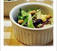 豆とシャキシャキ野菜のもずく酢サラダ