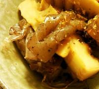 筍と蒟蒻の土佐煮