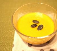 かぼちゃの甘酒豆乳プリン