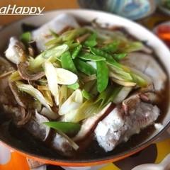 簡単 塩麹魚と和風野菜とわかめの重ね蒸し