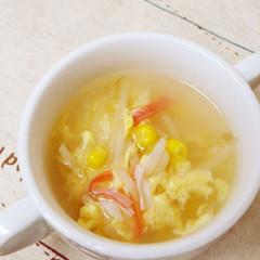 かにたま風 中華スープ